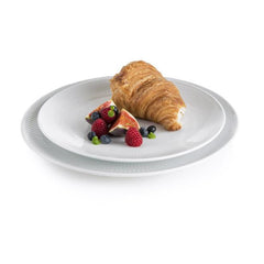 Royal Copenhagen White Fluted Plain Coupe Plate