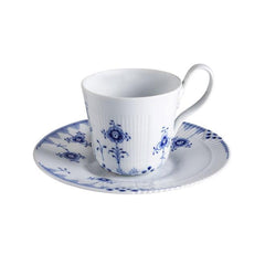 Royal Copenhagen Blue Elements Cup & Saucer