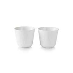 White Elements Thermal Mugs - Set of 2