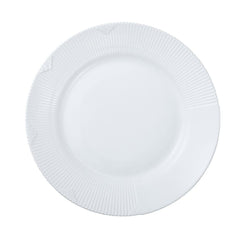 Royal Copenhagen White Elements Plate - Dia 9.75 in