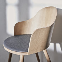 Ply Dining Chair - Seat Upholstered