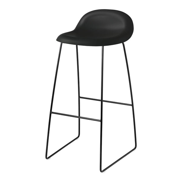 Gubi 3D Bar Stool - Sledge Base