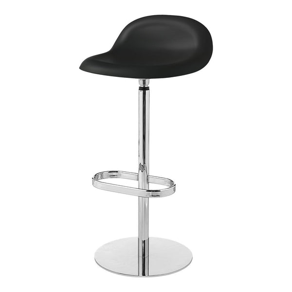 Gubi 3D Barstool - Return Swivel Base - Unupholstered