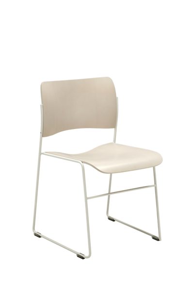40/4 Stackable Side Chair - Metal Frame