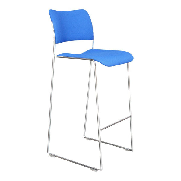 40/4 Stackable Barstool - Fully Upholstered