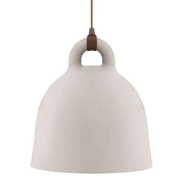 "Bell Pendant Lamp - Sand / Large: 21.7"" Dia x 22.4"" H - Outlet"