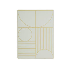 Outline Dinner Mat - Mint