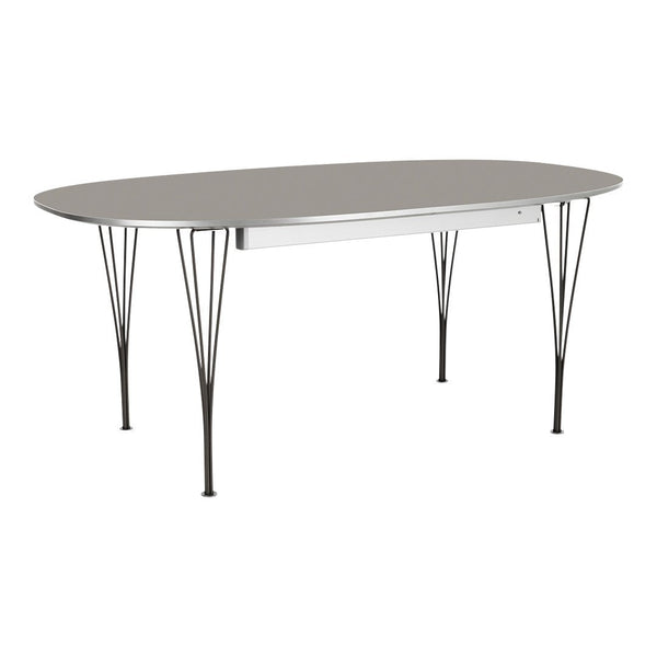 Super-Elliptical Extension Dining Table