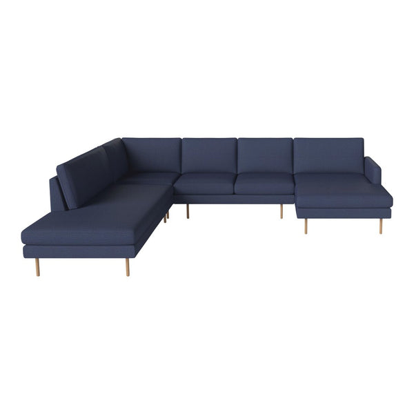 Superieur Scandinavia Remix 5 Seater Corner Sofa W/ Chaise Longue U0026 Open End