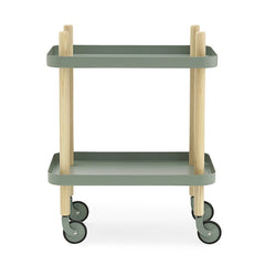 Block Table - Dusty Green - Outlet