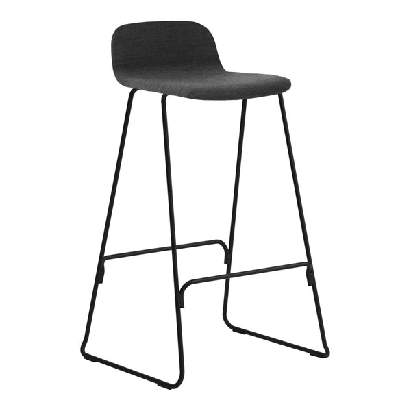 Just Bar Stool w/ Back - Fully Upholstered