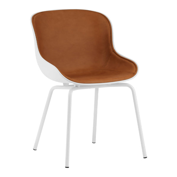 Hyg Side Chair - Steel 4-Leg, Front Upholstered