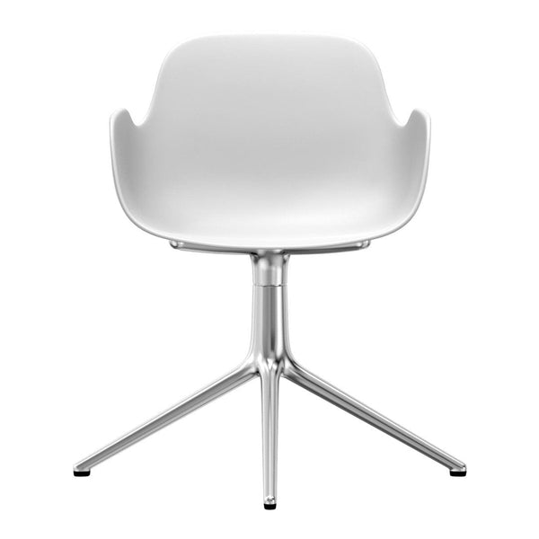 Form Armchair - 4L Swivel Base
