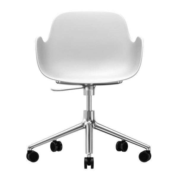 Form Armchair - 5W Swivel Base w/ Gaslift