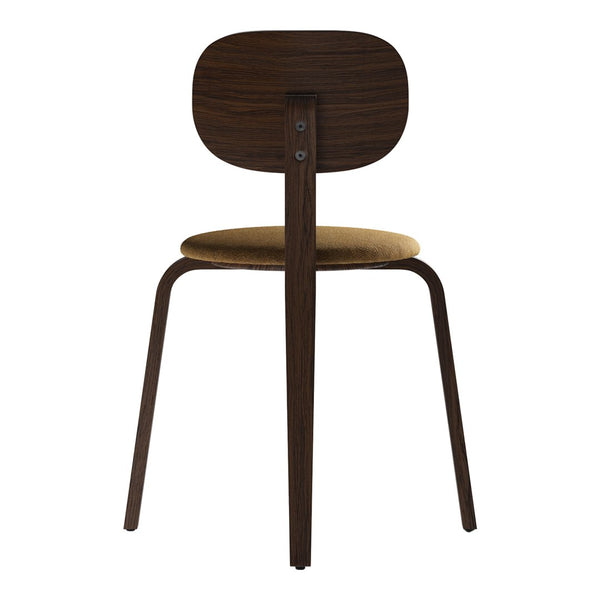 Afteroom Dining Chair Plus - Wood Base - Seat Upholstered
