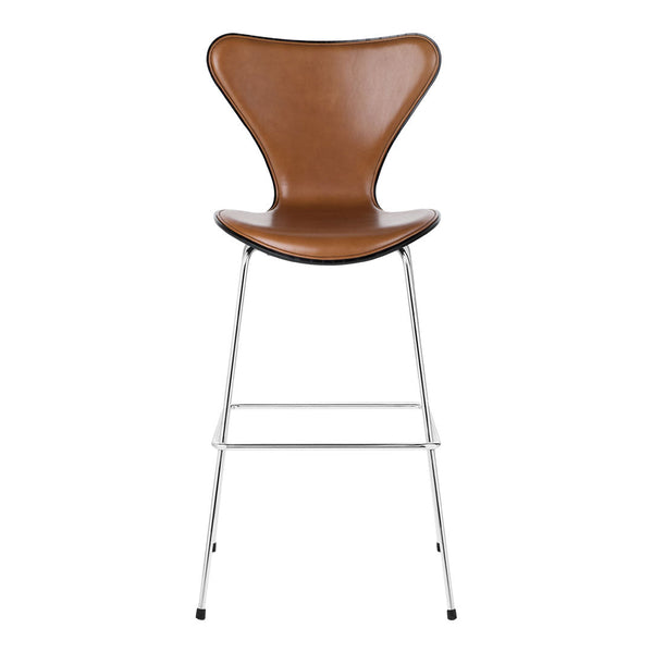 Series 7 Bar Stool - Lacquered - Front Upholstered