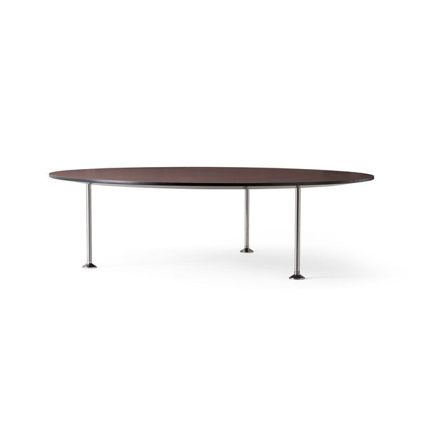 "Godot Coffee Table - Mauve / Round / Black / 13"" H - Outlet"