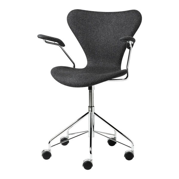 Jacobsen Series 7 Swivel Armchair - Fully Upholstered