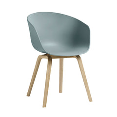 About A Chair AAC22 - Wood Base, Solid Shell