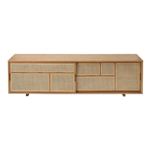 Air Sideboard - Low - Oak / Cane - Outlet