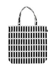 Artek Siena Canvas Bag  - White/Black