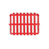 Artek Siena Small Tray - Red/White