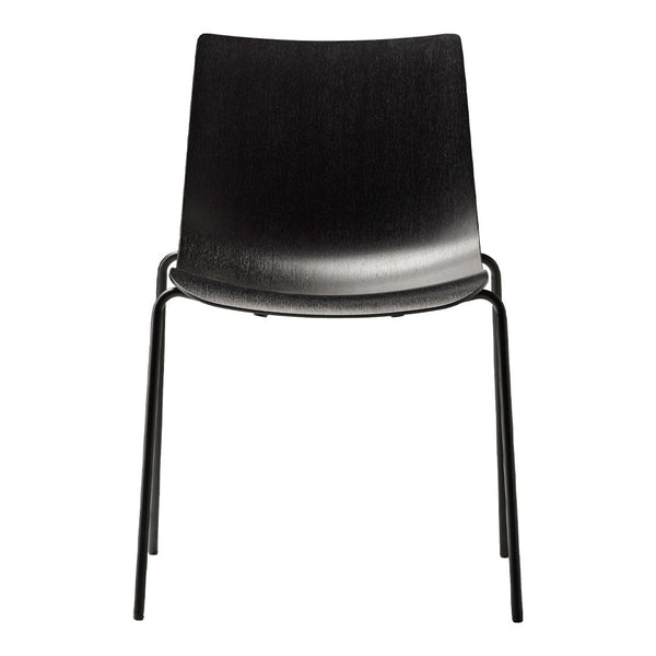BA002T Preludia Chair - 4-Legs - Wood