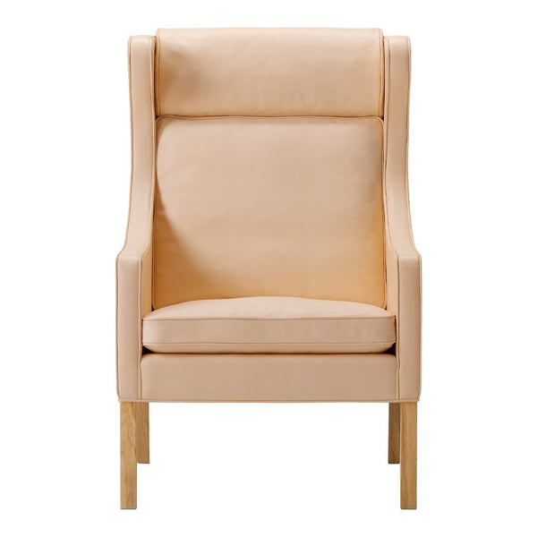 fredericia furniture the wing chair by børge mogensen danish