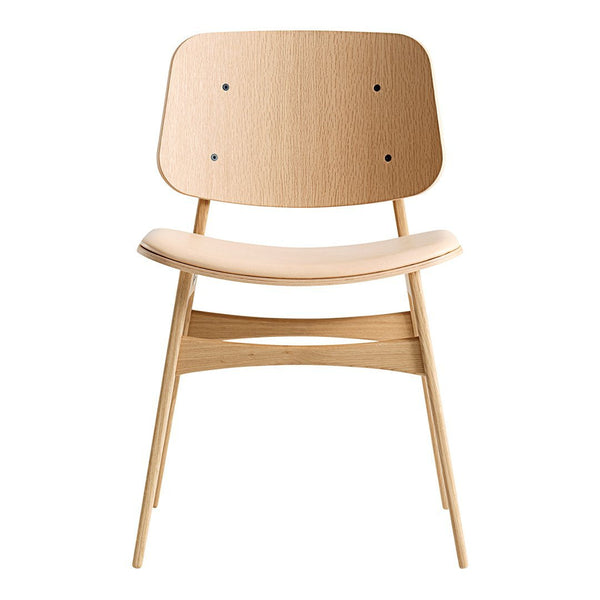 Soborg Chair   Wood Frame, Seat Upholstered