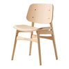 Soborg Chair - Wood Frame, Seat Upholstered