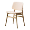 Soborg Chair - Wood Frame, Seat & Back Upholstered