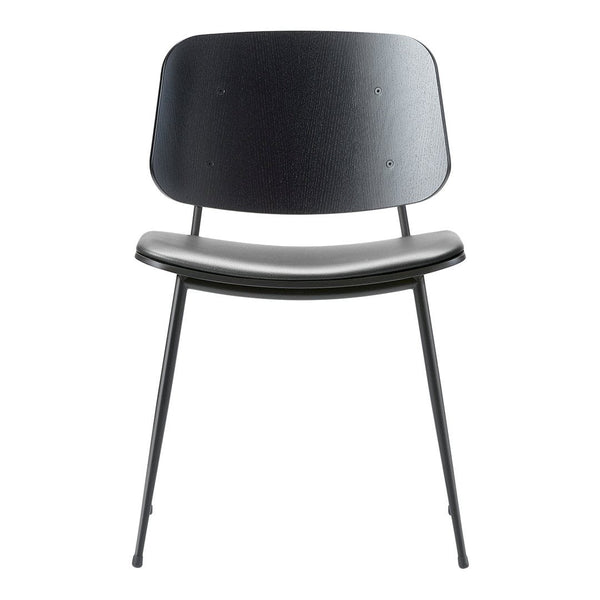Soborg Chair - Steel Frame, Seat Upholstered