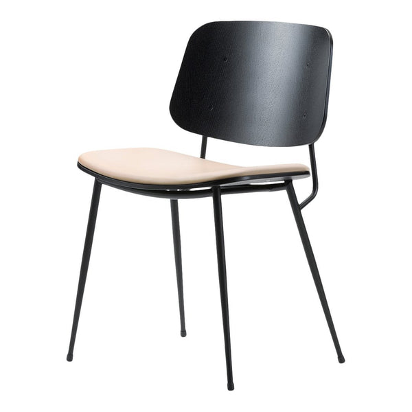 High Quality Soborg Chair   Steel Frame, Seat Upholstered