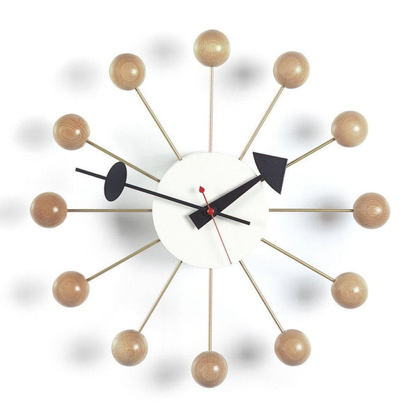 vitra nelson ball clock by george nelson danish design store. Black Bedroom Furniture Sets. Home Design Ideas