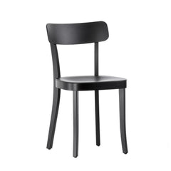Vitra Basel Chair - Black Beech Base, Basic Dark