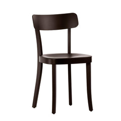 Vitra Basel Chair - Black Beech Base, Chocolate