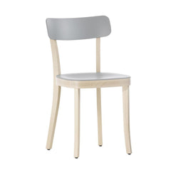 Vitra Basel Chair - Natural Beech Base, Light Grey