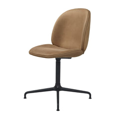 Beetle Dining Chair - Casted Swivel Base - Fully Upholstered