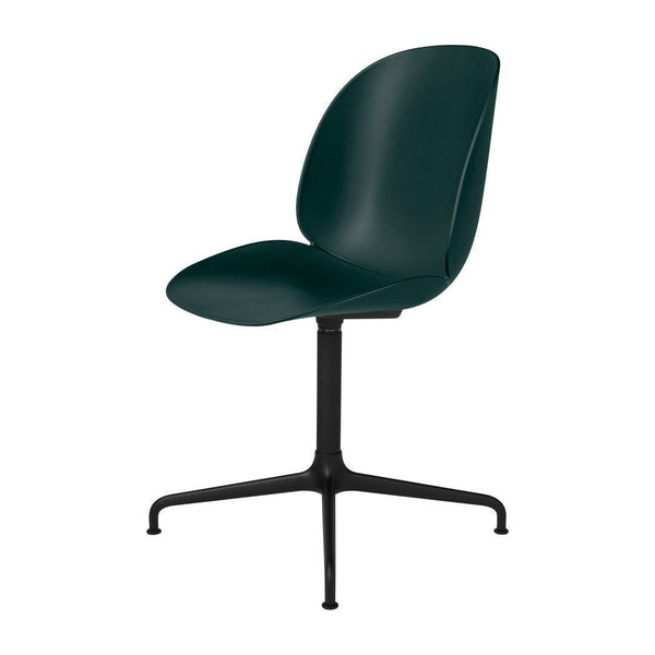 Beetle Meeting Chair - 4-Star Swivel Base - Unupholstered