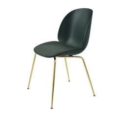 Beetle Dining Chair - Conic Base - Seat Upholstered