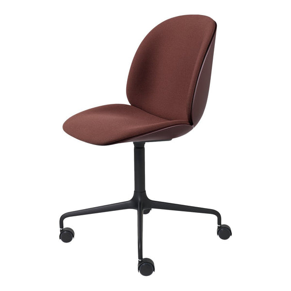Beetle Meeting Chair - 4-Star Base w/ Castors - Front Upholstered