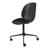 Beetle Meeting Chair - 4-Star Base w/ Castors - Unupholstered