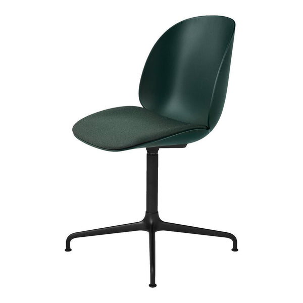 Beetle Meeting Chair - 4-Star Swivel Base - Seat Upholstered