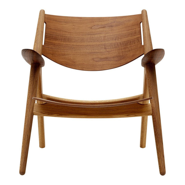 CH28T Sawhorse Lounge Chair - All Wood