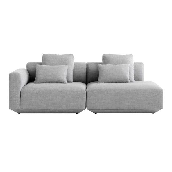 Develius 2-Seater w/ Open End Sectional Sofa
