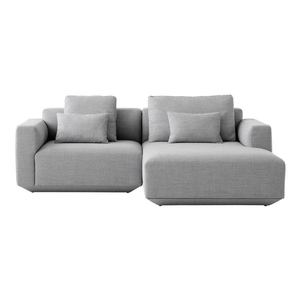 Develius Models B & C -  Sofa w/ Chaise Lounge