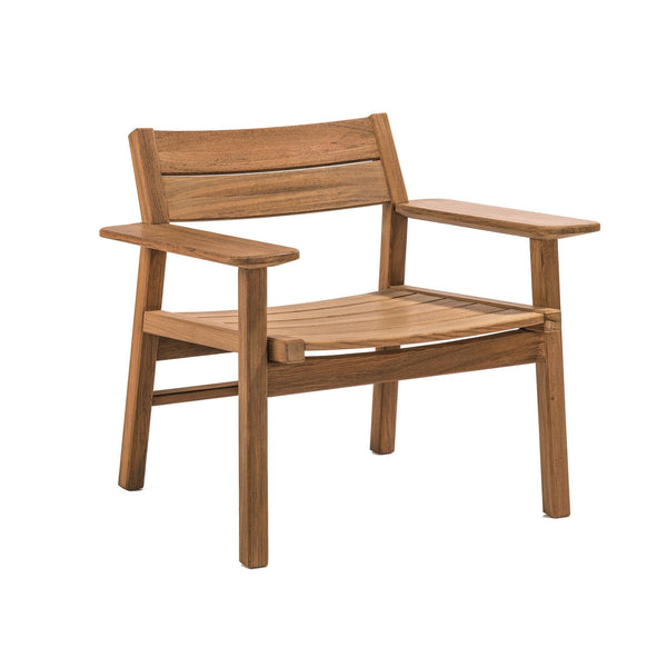 Djuro Lounge Armchair - Teak - Outlet