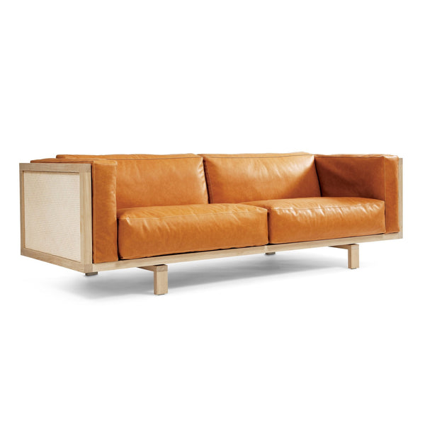 EJ 555 Frame Sofa with Natural Fibers