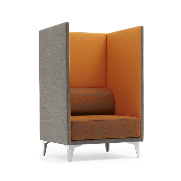 EJ 400 Apoluna Box Chair - Extra High Back