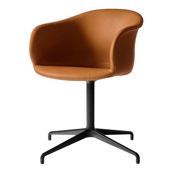 Elefy JH35 Conference Chair - Swivel Base w/ Return - Upholstered